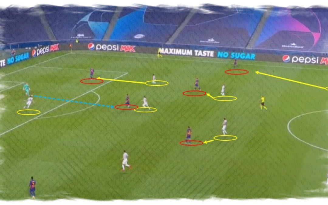 Análisis táctico del Bayern 8-2 Barcelona