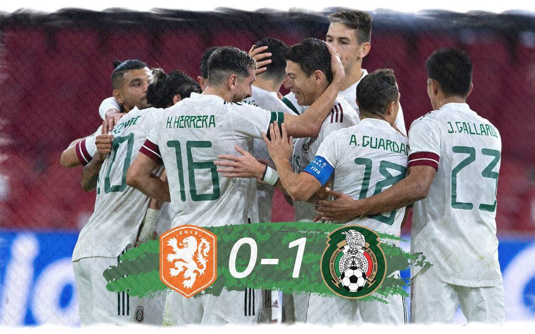México gana en Ámsterdam