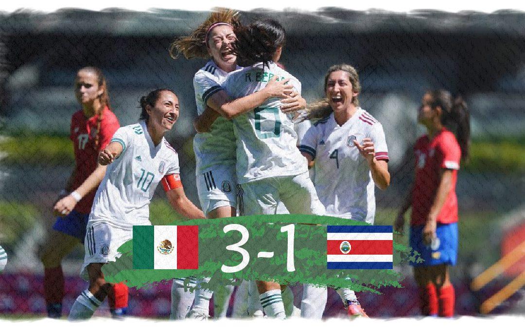 El Tri Femenil gana en un día histórico