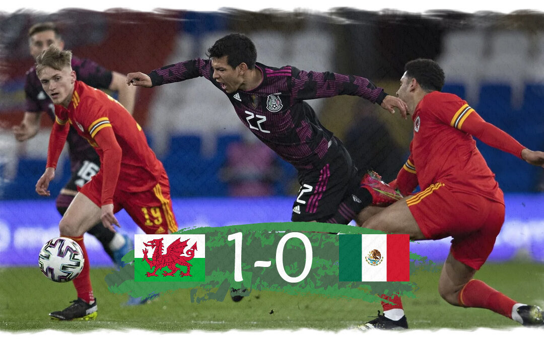 México cae en Cardiff